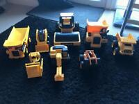Collection of children's construction toys