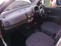 2005 Nissan Micra, Silver, Automatic, £2295