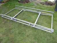 VW Caddy van roof rack, heavy duty galvanised, excellent condition, only £50