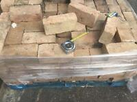 Reclaimed 2+3/4 Inch Hand Made Yellow Bricks X 250. £200