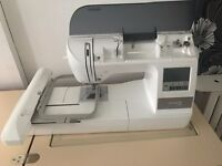 brother embroidery machine 750E