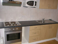 099Y- HAMMERSMITH- MODERN DOUBLE STUDIO FLAT, SEPARATE KITCHEN, FURNISHED,BILLS INCLUDED - £290 WEEK