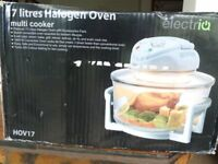 Electric 17 litre Halogen Oven. Brand new, still boxed, multi-cooker. Exceptional bagain.
