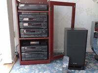 **SOLD**Aiwa Hi-Fi Stacking System **SOLD**