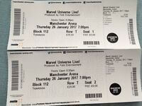 Marvel Universe Live Tickets for Manchester