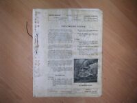 Various Ford Motor Company Service Bulletins between 1947 & 1959 for Anglia, Prefect & 5Cwt. Van.