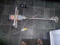 alfra eibenstock 110v mixer