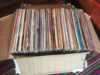 Job lot of mainly 80's pop vinyl records albums LPs