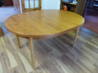 For Sale - Extending Dining Table - Seats Up To 8 Comfortably.