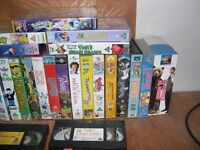 25 Childrens VHS Tapes