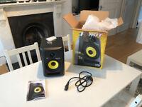 KRK Rokit 5 Studio Monitors 3 Generation (Only 1 time used !!!)