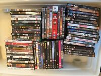 DVD collection - over 65 dvds!