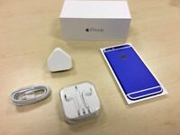 Boxed Blue / White Apple iPhone 6 16GB Factory Unlocked Mobile Phone + Warranty