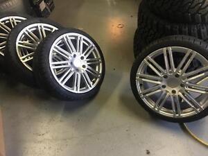 19 inch Porsche Turbo GT Reps -- 911 / 928 / etc -- 5x130 PIRELLI SottoZero Winter tires