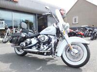 Harley Davidson Softail Heritage 2013 in Marine Pearl (White)