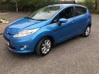 2010 FORD FIESTA ZETEC 1.4 DIESEL**HPI CLEAR**20£ ROAD TAX**FULL SERVICE HISTORY**LOW MILEAGE**
