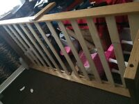 Free wooden single bed frame