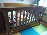 Mamas & Papas Oak Baby Cot for sale!!!!
