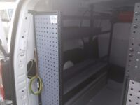 Van racking for Peugeot Partner/ Citreon Berlingo L2