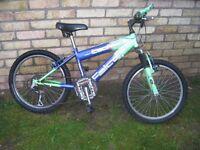 "Kids Mountain Bike 20"" Wheels"