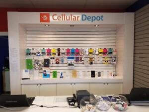Running Business: Cellular Depot Store for Sale Urgently...Opportunity for new owner or expansion Serious buyers only.