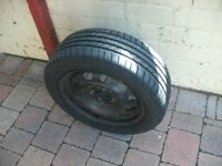 BRAND NEW WHEEL AND TYRE 195X55R 15
