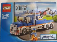 LEGO City 60056 Tow Truck - Includes Box and Mini Figure - Complete