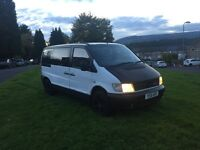 Diesel Mercedes Vito dayvan,tow bar,lng mot ,DVD player ,5 seater ,full rock & roll bed ,px welcome
