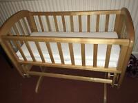 John Lewis crib