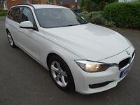 2012 BMW 320D SE TOURING 2.0 DIESEL WHITE ESTATE ECO BLUETOOTH STOP/START LOOK