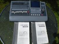 Roland VS1680 24 Bit Digital Recording Workstation with manuals