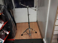 PEARL DOUBLE BRACED ADJUSTABLE CYMBAL BOOM STAND , VERY STURDY STAND