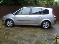 2006 Renault Grand Scenic 1.6 Dyn-ique 16v, 7 seats, Low millege, Very good condition