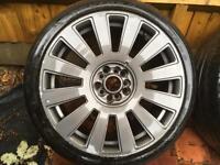 Audi alloys 225/40/18