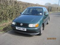 VW Polo 5 door hatchback, FSH and long MOT, only 46000 miles