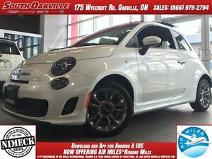 2016 FIAT 500 Turbo | DEMO CLEARANCE | HEATED LEATHER | SUNROOF