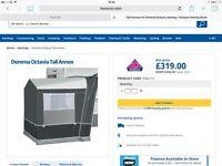 Dorema tall annex x2 will split £125 each