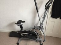 Cross trainer and bike 2 in 1