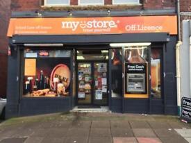 Off licence Shop for sale