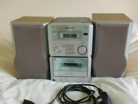 Sharp Compact Stereo CD/MW/FN Radio Cassette Model XL30H(WL)