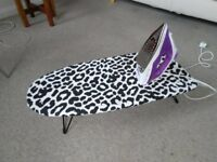 Not used Iron and Ironing Board