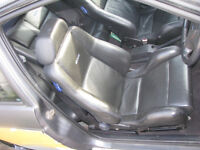 Ford Escort Cosworth Leather Front & Rear Seats With Cards