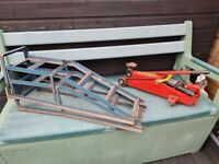 Trolley Jack and Car Ramps For sale