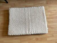 BEDSURE Large Dog Bed Washable - Orthopedic Dog Mattress for Dog Crate, Grey, 91.5x68.6x7.6cm