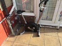 EXERCISE BIKE - CARDIO FITNESS WORKOUT MACHINE
