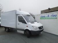 2013 mercedes 313 fridge/freezer thermo king box walk in one uk owner £6500 like new