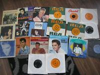 job lot vintage elvis singles