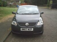 VOLKSWAGEN FOX 1.2 LOW MILEAGE 1 YEAR MOT