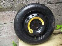 14 inch 4 stud spacesaver wheel