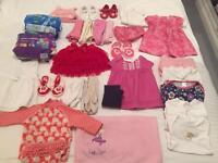Baby girls clothes bundle 28+ items